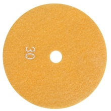 5 inch 125mm Wet Diamond Polishing Pads Marble Granite Grits 30