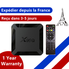 Iptv-Box Tv-Set Android 10.0 From-France Allwinner H313 X96q Smart Ip New 16G Ship 2G