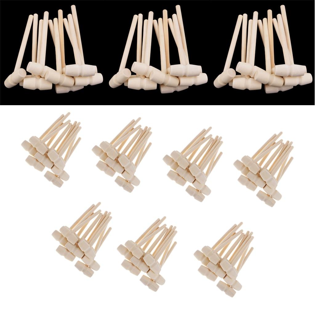100/80/60/30 шт мини деревянный молоток 140x43x19 мм Краб Омаров морепродукты крекеры детские забавные игрушки