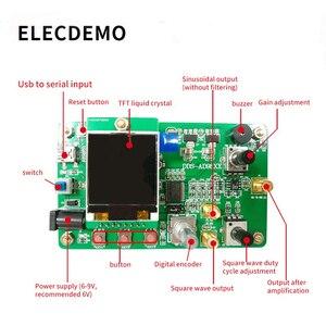 Image 5 - Módulo generador de señal, función DDS, programa de envío, Compatible con 9851, función de barrido, TFT, color, LCD, generador de señal