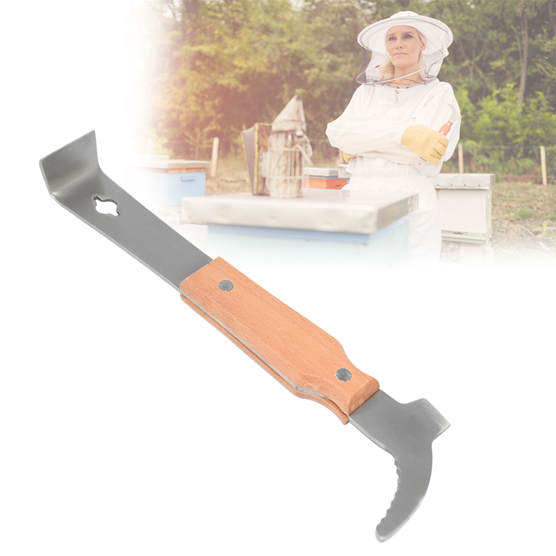 BeeHive Tool Bee Scraper For Beekeeper Take Honey Knife Beekeeping Equipment Apiculture Uncapping Beekeeping Tools