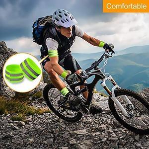 Image 3 - Светоотражающие ленты, эластичная повязка на руку, ремешок на лодыжке, ремни безопасности, отражатель, лента для ночного бега, ходьбы, езды на велосипеде