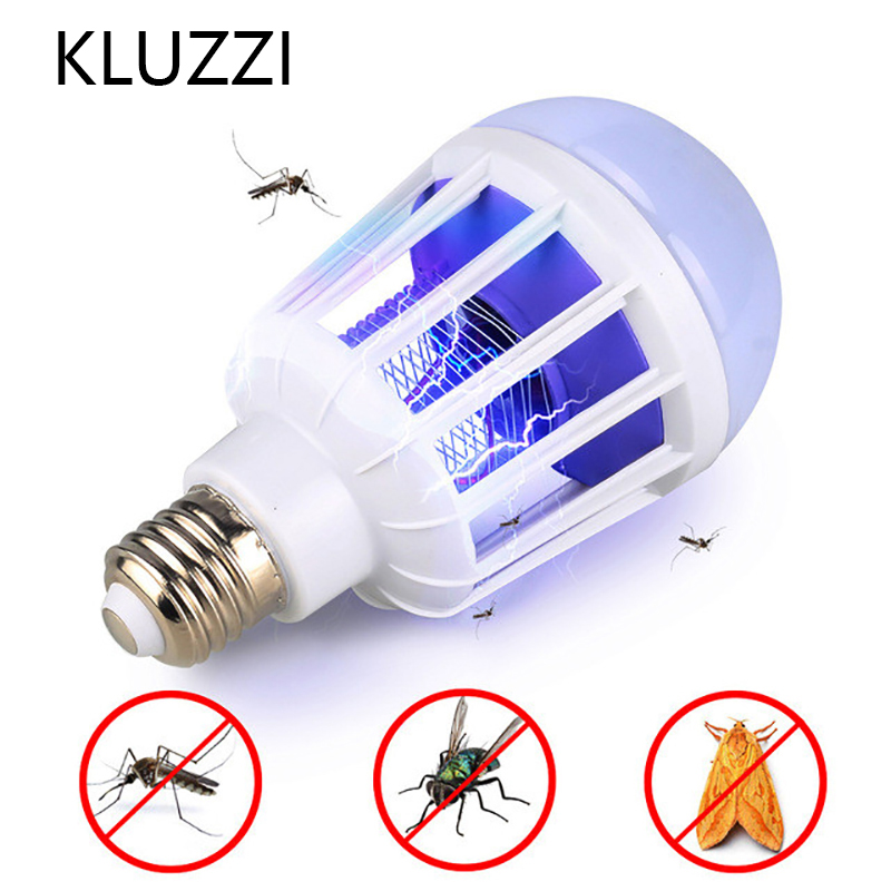 E27 9W 15W Mosquito Killer Lamp Machine Electric Fly Insect Bug Zapper Repellent Trap Pest Repeller Control Reject Light Bulb