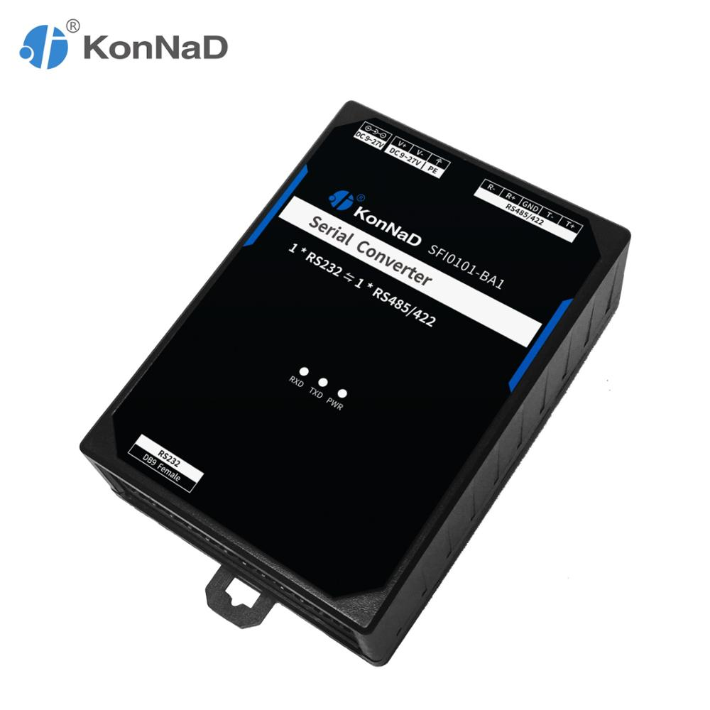 RS232 To RS485 RS422 Adapter Converter 3.5kV Optical Isolation ADDC Serial-to-Serial KonNaD