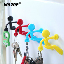 Rock Climber Key Chain Car Accessories Ring Creative Humanoid Strong Magnetic Multi-function Hanging