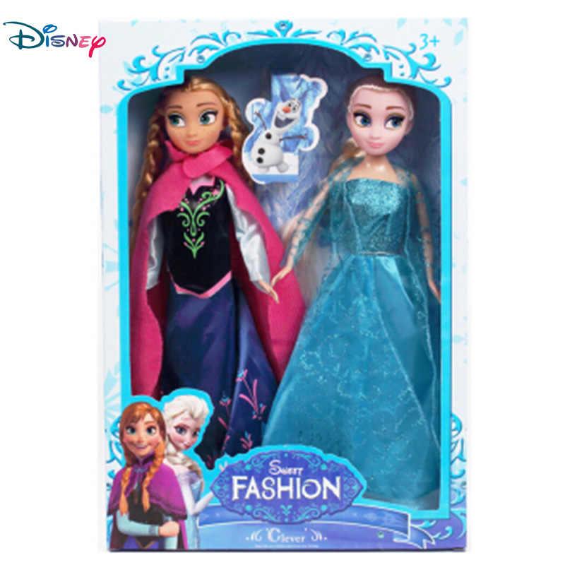 Дисней Замороженная Принцесса Кукла Фея фантазия девочка DIY игрушка ручной работы платье действие Aisha Ana прекрасная игрушка модель для ребенка подарок на день рождения