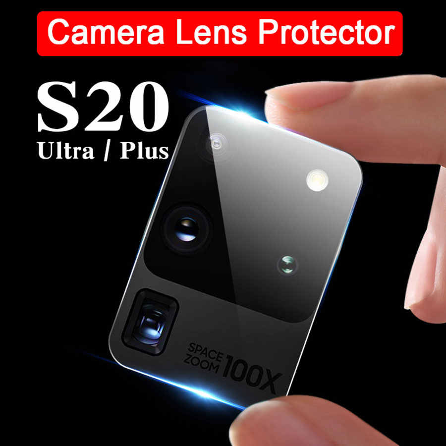 2Pcs Camera Lens Gehard Glas Voor Samsung Galaxy A51 A71 A50 A30 A70 S20 Ultra S10 Note 10 Plus pro Glas Protector Film