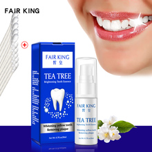 Tea Tree Teeth Whitening Essence Serum Oral Hygiene Cleaning Liquid Removes Plaque Stains Fresh Breath Tooth Bleaching Dental