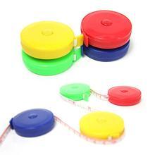 1,5 м Рулетка для измерения размеров тела цветная яркая швейная портная лента швейная линейка метр Детская высота линейка случайный цвет