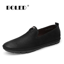 High Quality Causal Shoes Men Leather Loafers Moccasins Male Slip On Flats Genuine Leather Men Driving Shoes mycolen spring high quality genuine leather shoes men flats fashion loafers mens flats slip on driving shoes male brand shoes