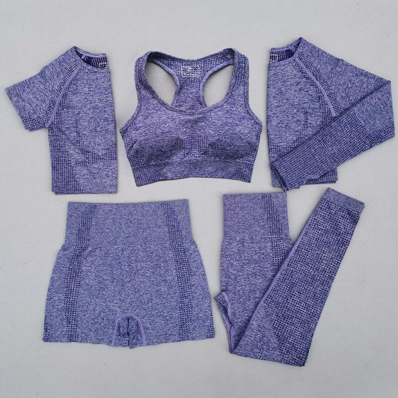 5Pcs-Women-Vital-Seamless-Yoga-Set-Workout-Sport-Wear-Gym-Clothing-Short-Long-Sleeve-Crop-Top (2)