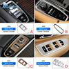 AIRSPEED Chrome ABS Stainless Steel for VOLVO XC90 Accessories 2015 2016 2017 2018 2019 Car Decoration Sticker Interior Moulding review