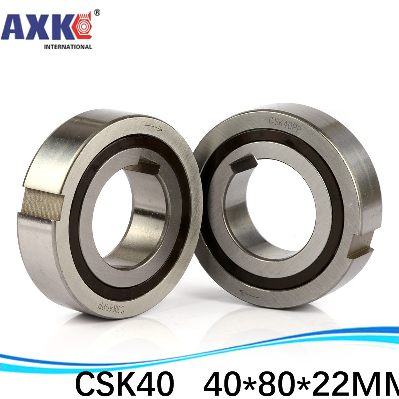 1piece CSK40PP 40mm One Way Clutch Bearing with keyway 40*80*22 mm