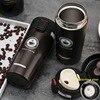 380ml portátil caneca de café do curso de aço inoxidável isolado garrafa térmica tumbler garrafa de vácuo thermo garrafa de água caneca de carro thermocup