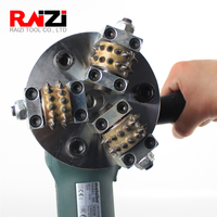 Raizi 5 inch/125 mm Bush Hammer Grinding Wheel For Granite Marble Stone Grinder Hammer Grinding Disc 2020 New
