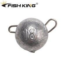 Рыбы король 5 шт/упак 6g 8g 10g 12 14g 18g рыболовный грузик