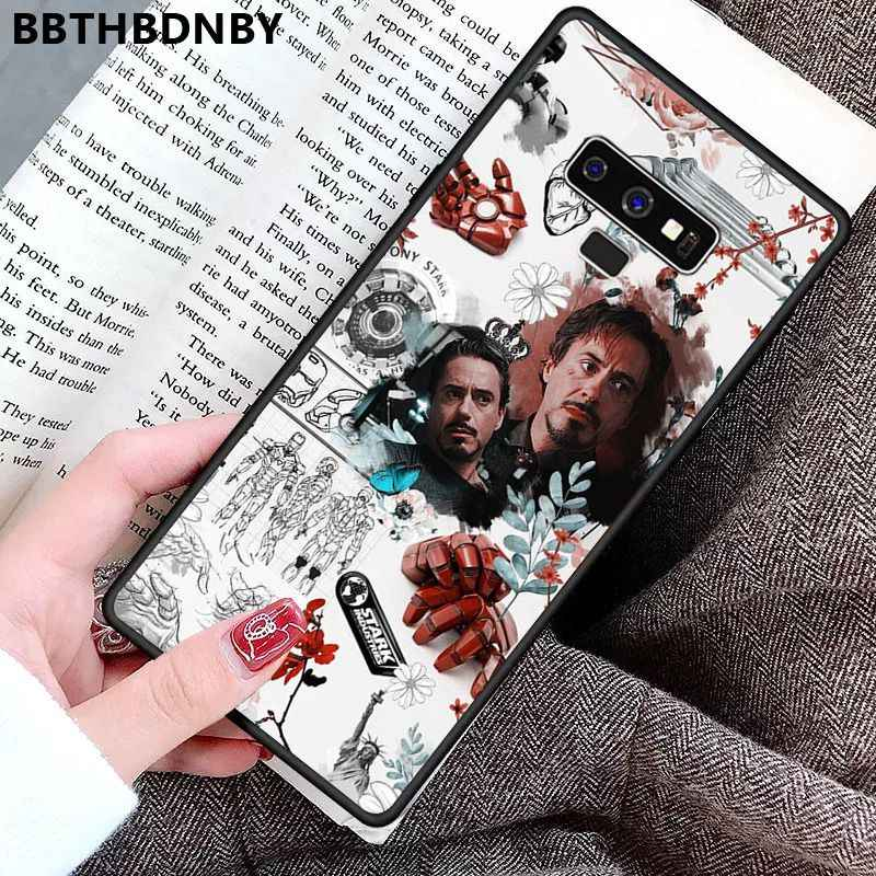 Caixa do telefone homem de ferro personalizado foto macio fundas caso de telefone para samsung s9 plus s6 borda mais s7 borda s8 mais s10 plus