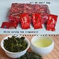 2019 tè oolong anxi Tieguanyin tè cinese di alta qualità 1725 il tè fresco per la perdita di peso cura della brughiera 64 PICCOLO borse