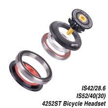Mtb bicicleta rolamento fone de ouvido 42mm 52mm cnc 1 1/8