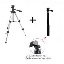 Профессиональный складной штатив-тренога для камеры с винтом для штатива на 360 градусов, алюминиевый стабилизатор с удлинителем