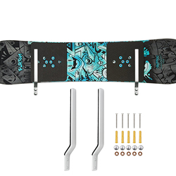 Snowboard Lagerung Rack Display Rauen Wand Montiert Lagerung Rack-Fit meisten snowboards (Nicht dicker als 30 MM) -KEINE BORD