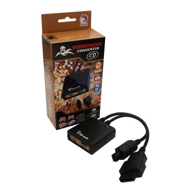 Brook Wingman Sd Converter Voor Xbox 360/One/Elite 1 & 2/Voor PS4 Voor PS3 Voor schakelaar Pro Controller Voor Sega Dreamcast & Voor Saturn