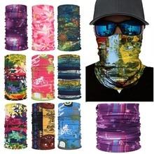 3D Балаклава, шарф, грелка на шею, гетры на половину лица, маска, головные банданы, повязка на голову, головные уборы для мужчин и женщин, Прямая поставка Z0815