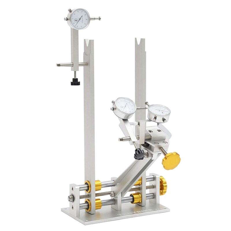 Bike Wheel Truing Adjustment Repair Stand,Bicycle Rims Repair Adjust Table, MTB Road Bike Wheel Maintenance Tools