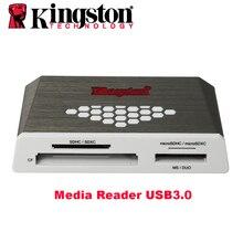 Kingston Micro SD Card Reader USB3.0 Media Reader CF TF MS SDHC/SDXC UHS I Microsd Đa chức năng Flash Thẻ nhớ USB Adapter