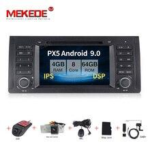 MEKEDE Android 9.0 7 zoll auto dvd radio multimedia player Für BMW X5 M5 E39 E53 stereo video können bus lenkung wheel control + KARTE