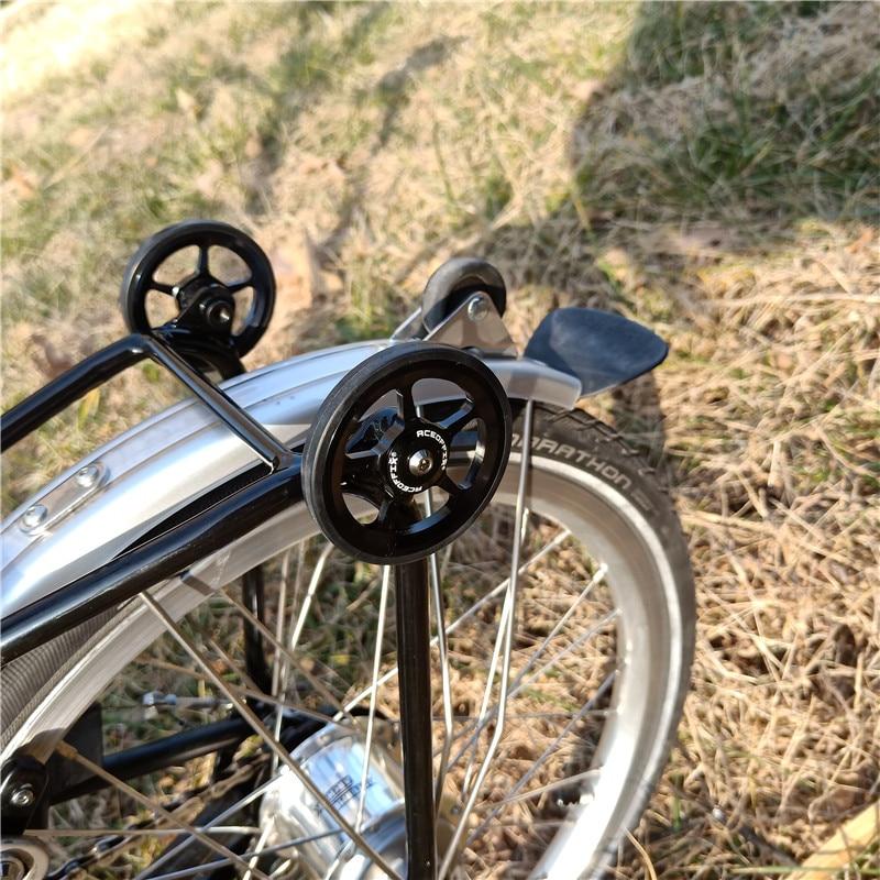 CLISPEED 1 Juego Rueda F/ácil de Aleaci/ón de Aluminio Bicicleta Plegable Rueda F/ácil Compatible con Brompton