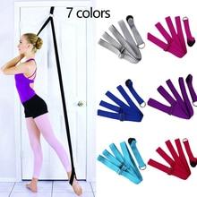 Door Flexibility Stretching Leg Stretcher Strap For Ballet Cheer Dance Gymnastics Trainer Yoga Stretch Belt