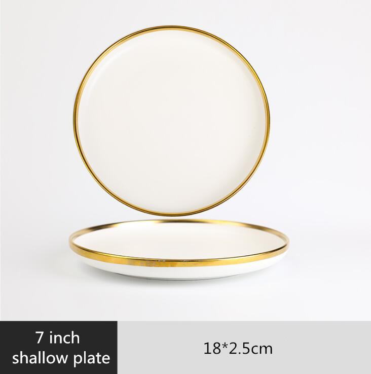 7 inch Shallow plate