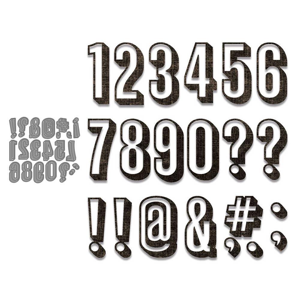 4 Stuks Nummer Abc Metalen Stansmessen Scrapbooking Stencil Diy Papieren Kaart Decoratieve Embossing Sterven Cut Craft Sterft 2020 Nieuwe