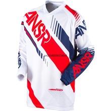 2021 motocyklowe ubrania jeździeckie mężczyźni DH MX Motocross koszulka wyścigowa motocyklowe koszulki kolarskie koszulka z długim rękawem Off-road Jersey tanie tanio CN (pochodzenie) COTTON Poliester Pełna Winter summer Wiosna AUTUMN Nie zamek Jazda na rowerze Przeciwzmarszczkowy Oddychające