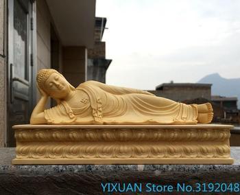 Abedul de Taiwán Sakyamuni Buda hogar negocios adornos de oficina tallado artesanías...