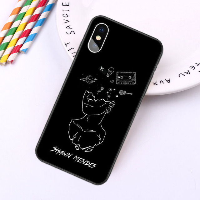 SHAWN MENDES THEMED IPHONE CASE (4 VARIAN)