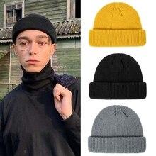 Winter Warm Beanies Casual Short Thread Hip Hop Hat Adult Men Beanie Female Wool Knitted Beanie SkullCap Elastic Couples Hats