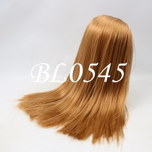 Image 3 - Blyth הבובה קפוא פאה רק rbl קרקפת הכיפה שומן שיער, זהב בלונד שחור ישר כחול כתום שיער