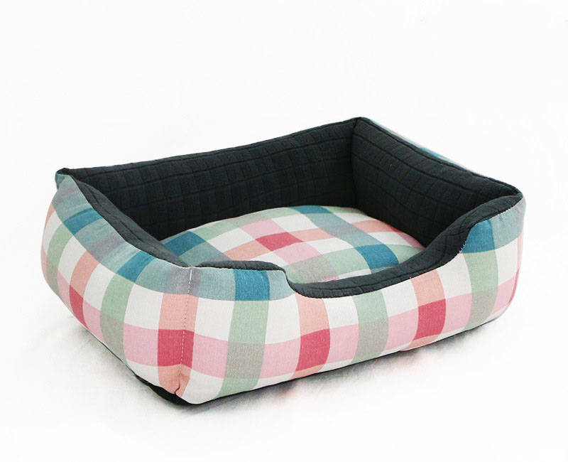 Pet Cat Dog Bed Warm Cozy Dog House Soft Nest Dog Baskets House Mat Autumn Winter Waterproof Kennel Removable Dog Bed 8