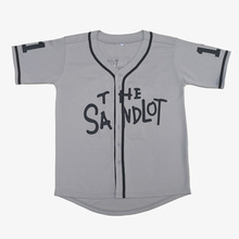 The Sandlot #5 Squints #11 Yeah-Yeah Gray Baseball Jerseys