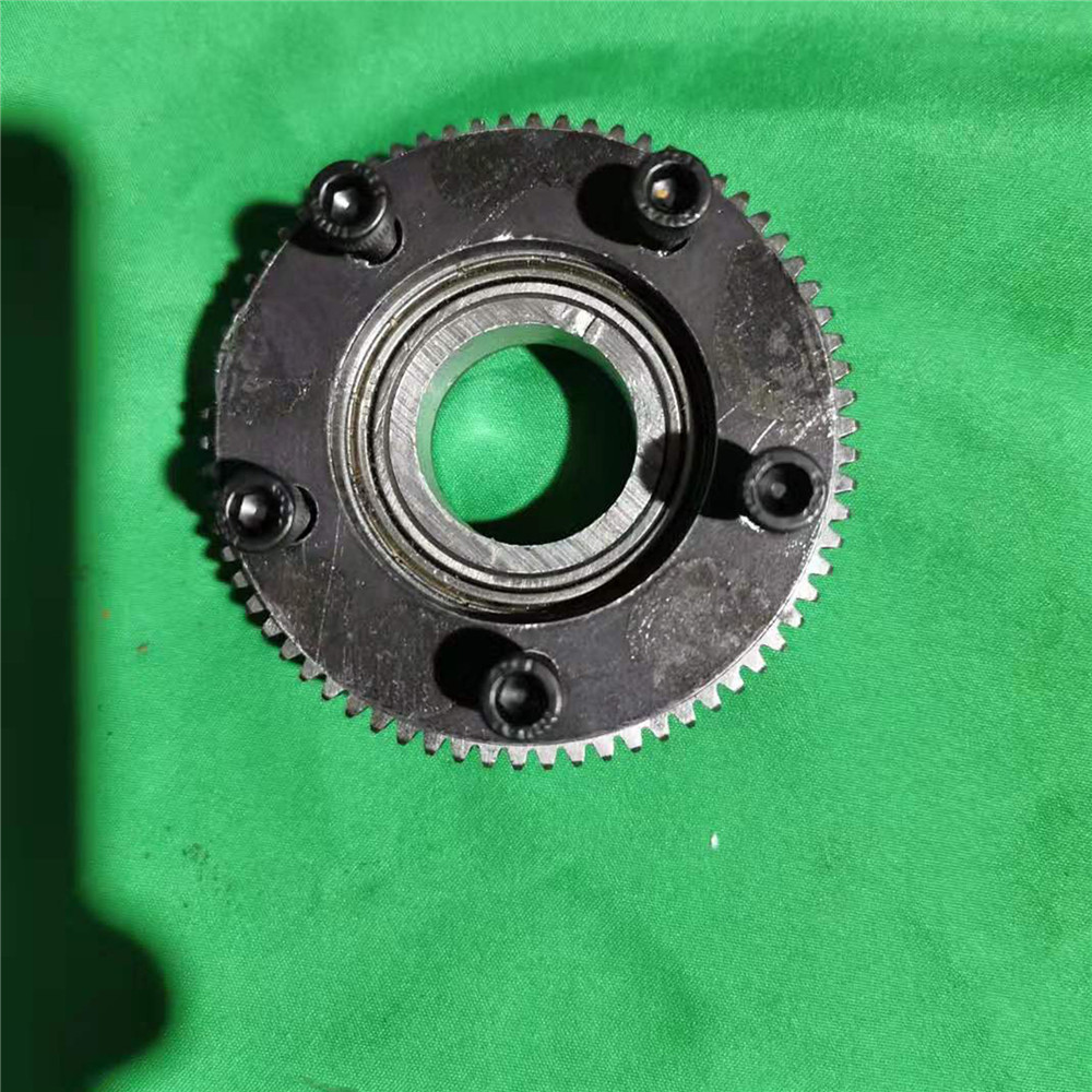 Double Bearing Rotation Gear Plate Slewing Gear Support for <font><b>1/18</b></font> HUINA 580 RC Excavator Modification Parts <font><b>Accessories</b></font> image