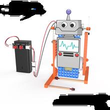 diy electronic kit set Assembled Toy for stem education Plotter/fan/robot/Hydraulic lifting platform/fish/night light