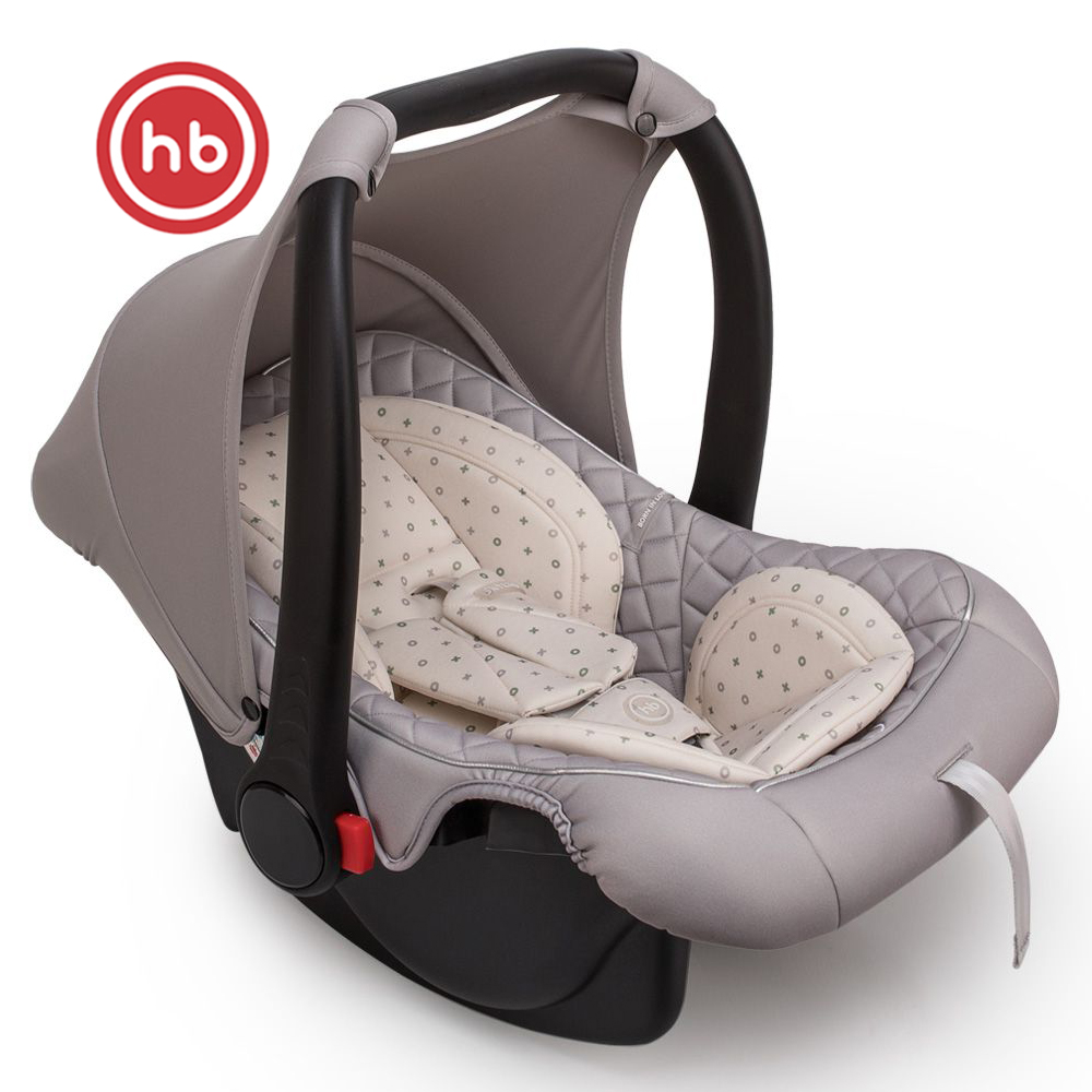 Assentos de segurança do carro da criança feliz bebê skyler v2 para meninas e meninos assento do bebê crianças cadeira autocradle impulsionador grafite