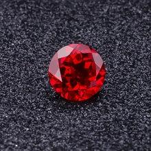Свободный рубин starszuan 75 мм круглая форма 225 карат лабораторный
