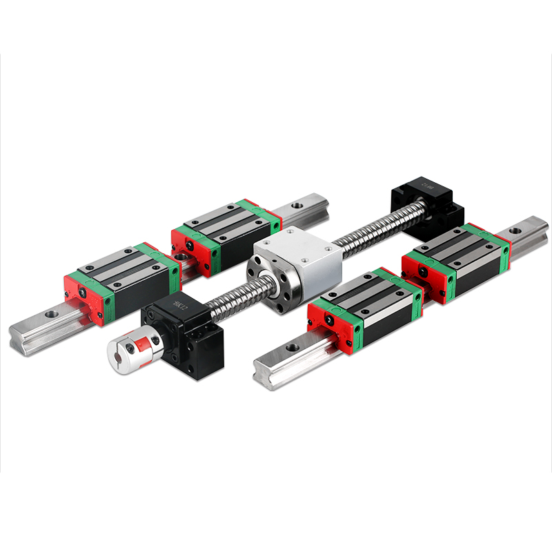 2 pc HGH20 any length+1 SET SFU1605+4 HGH20CA /hgw20cc Linear guide High assembly square load ball screw linear motion module Linear Guides     - title=