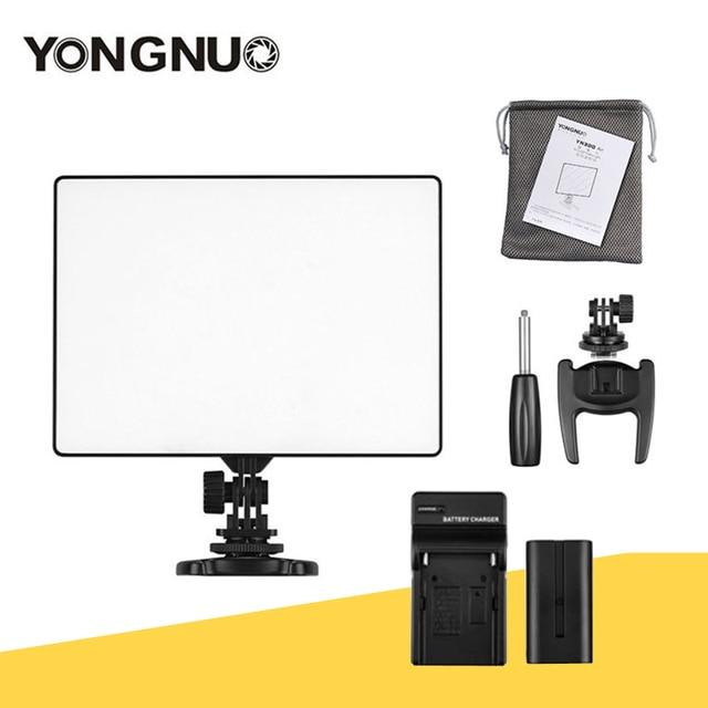 YONGNUO YN300 air YN 300 air yn 300 AIR Pro caméra LED lumière vidéo pour Canon Nikon + NP F550 batterie + chargeur