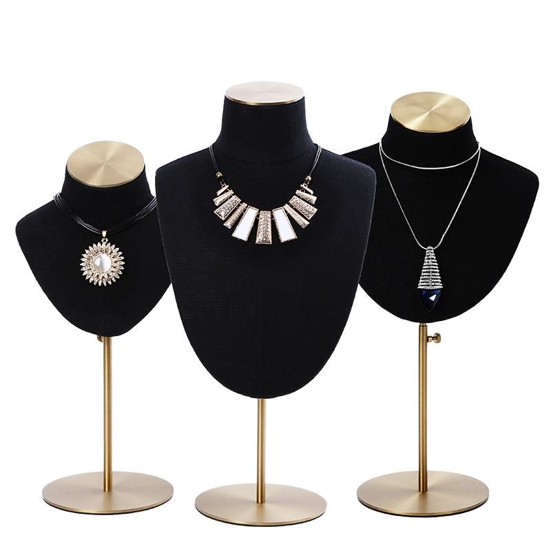 Bijoux présentoir porte-collier affichage bijoux affichage noir velours collier présentoir organisateur