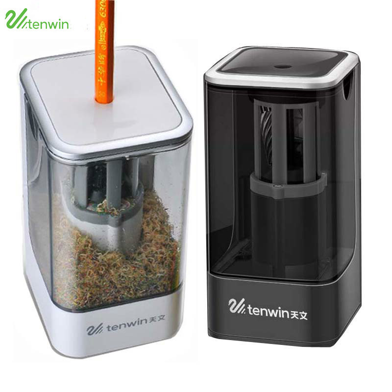 NEW Automatic Electric Pencil Sharpener AC 100-240V 50 / 60HZ 8006