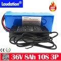 Bateria 36v 8Ah 10s3p литий-ионный аккумулятор 18650-зарядное устройство-Емкость 8800mah мощный электрический велосипед 500W 42V 7.8ah с зарядным устройством BMS ...